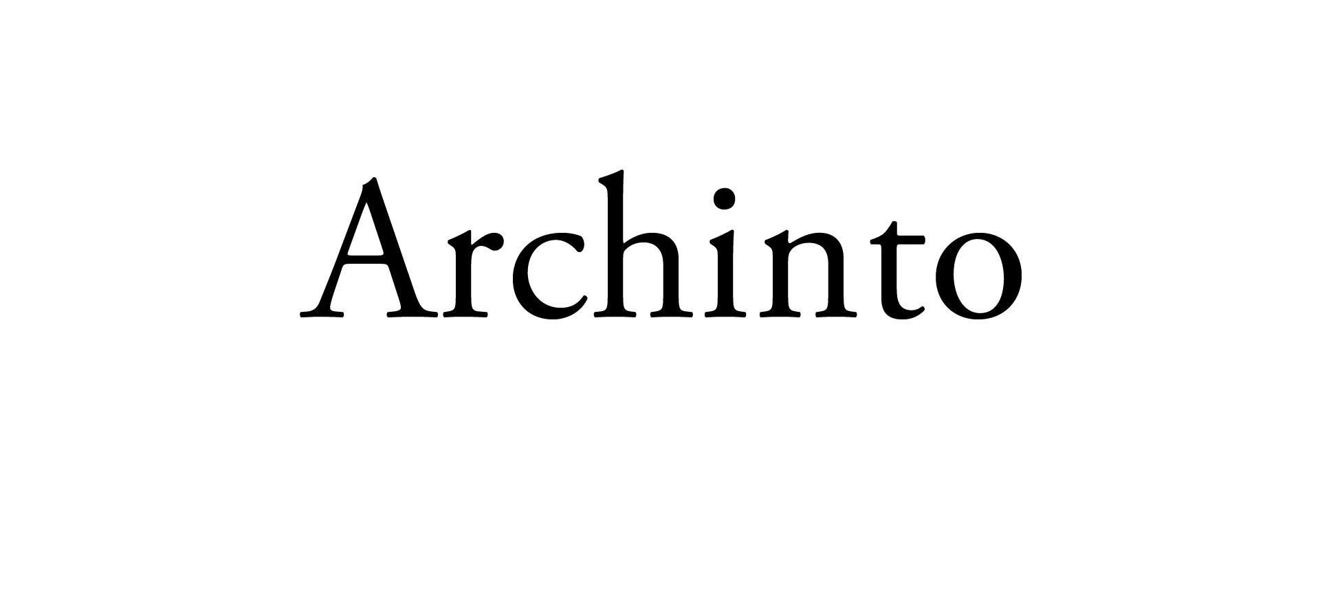 logo-archinto-scritta